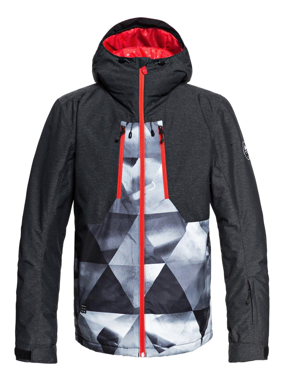 5c2c0ae82c3 0 Mission Plus - Snow Jacket for Men Black EQYTJ03189 Quiksilver