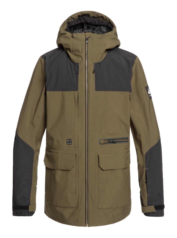 6c9cd5dd 0 Arrow Wood - Snow Jacket Brown EQYTJ03212 Quiksilver