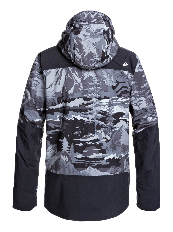 5c9f9e60 2 Arrow Wood - Snow Jacket Black EQYTJ03212 Quiksilver