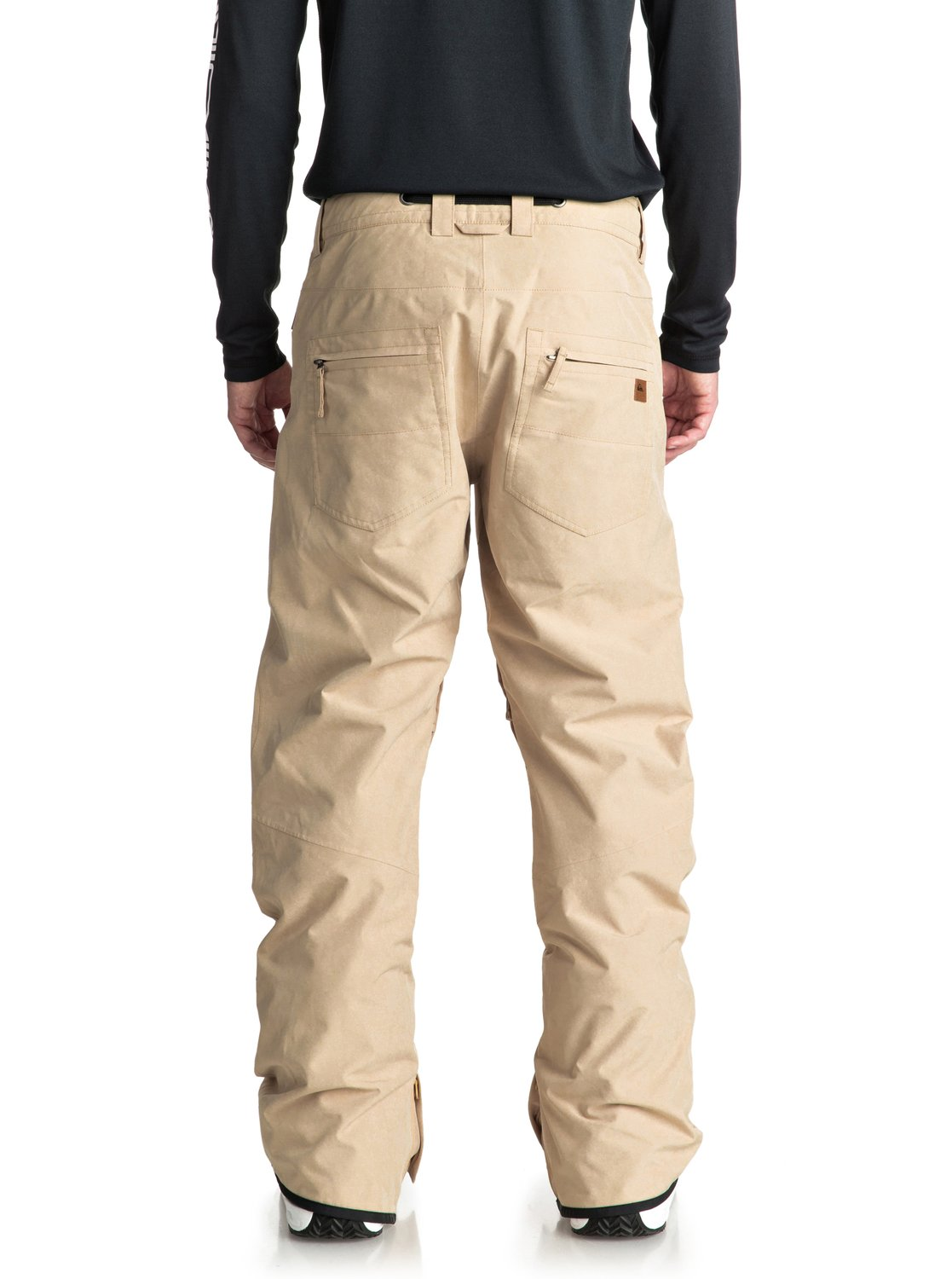 7fac7402110b1 3 Forest Oak - Shell Snow Pants for Men Beige EQYTP03084 Quiksilver