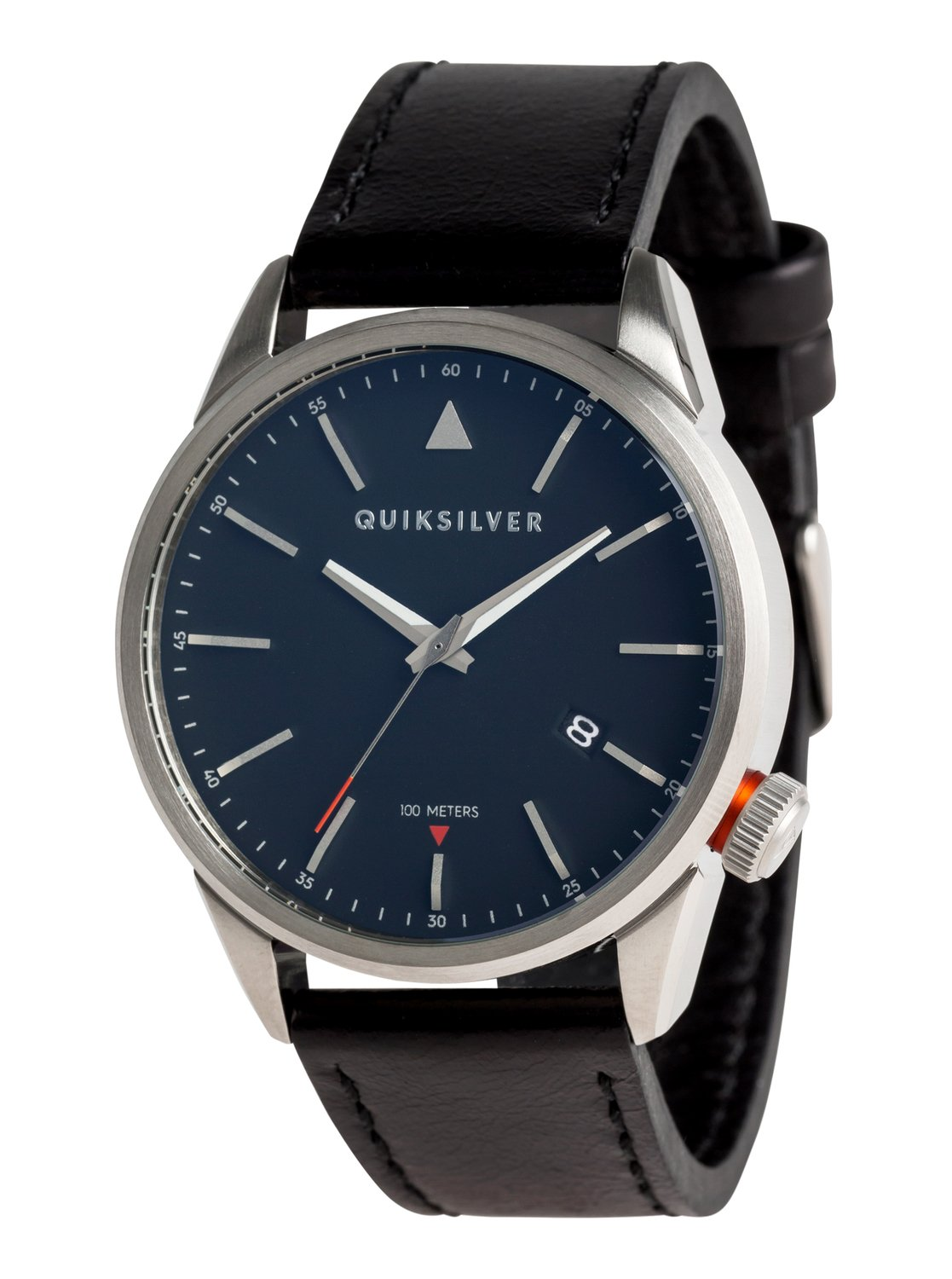 0ea3ec872865 0 The Timebox 42 Leather - Reloj Analógico para Hombre Gris EQYWA03027  Quiksilver
