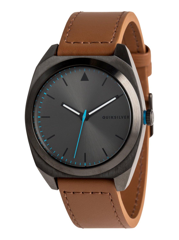 7e3fe16b34ab 0 The PM Leather - Reloj Analógico para Hombre Negro EQYWA03031 Quiksilver