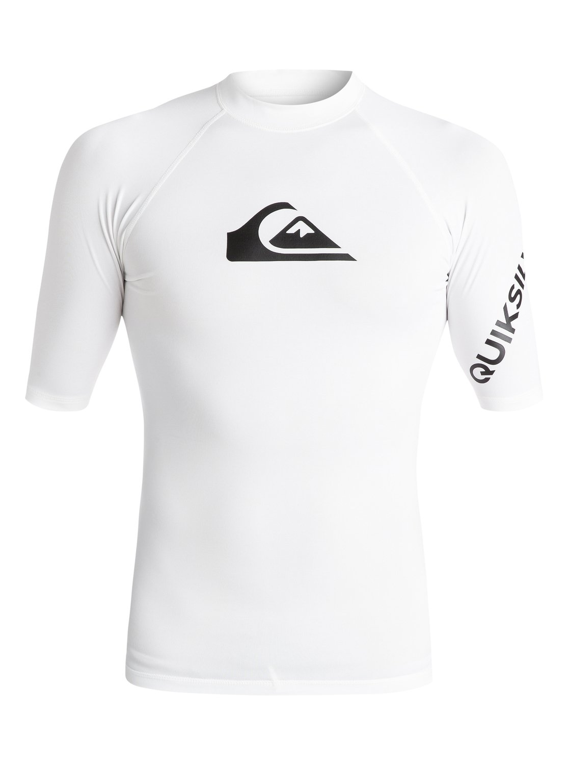 aa4d5ae59c018 Details about Quiksilver™ All Time Short Sleeve UPF 50 Rash Guard EQYWR03033