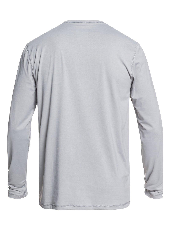 Quiksilver Mens Solid Streak Ls Long Sleeve Upf 50 Rashguard