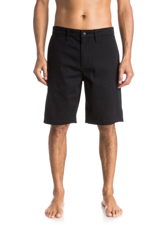 55c557e736 0 Everyday Union Stretch - Shorts Black EQYWS03164 Quiksilver