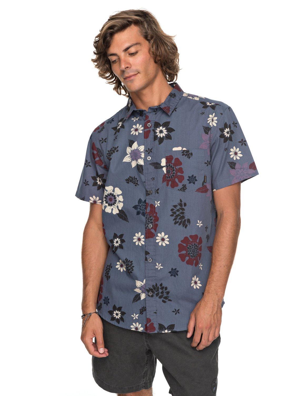 3d1d3c13 Sunset Floral - Short Sleeve Shirt for Men