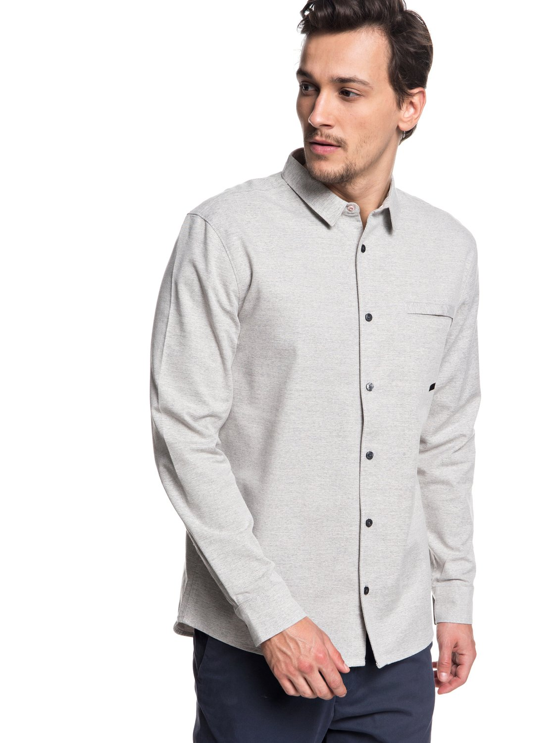 3e71ae558462 0 QTRVL - Long Sleeve Shirt for Men Grey EQYWT03707 Quiksilver