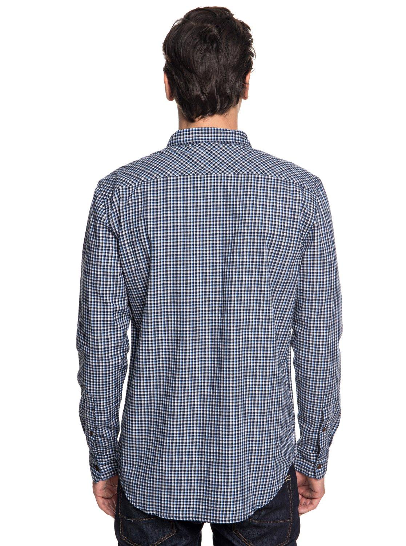 Quiksilver-Fuji-View-Chemise-a-manches-longues-pour-Homme-EQYWT03719 miniature 11