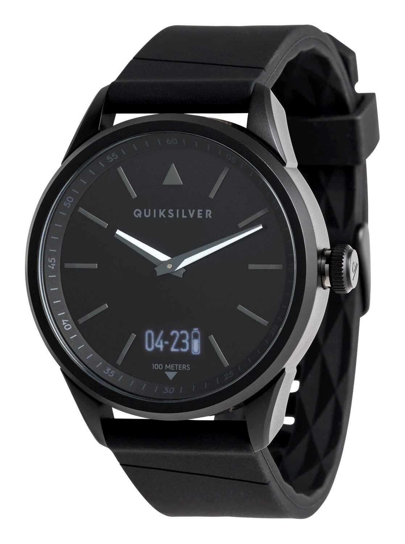 879b83109c58 0 The Timebox Activ - Reloj Analógico-Digital para Hombre Negro EQYWT03773  Quiksilver