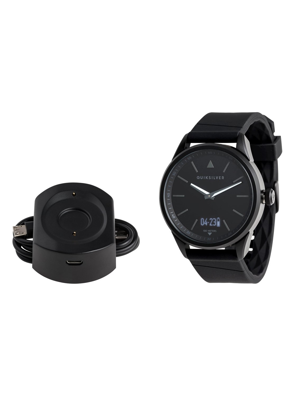 9cb99e40bd6f 1 The Timebox Activ - Reloj Analógico-Digital para Hombre Negro EQYWT03773  Quiksilver