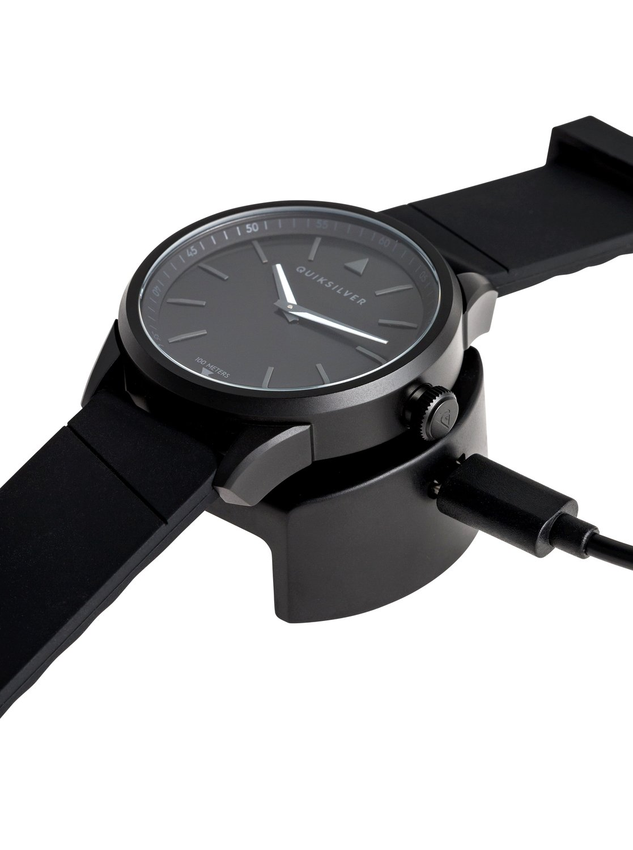 efdaffc6b98b 2 The Timebox Activ - Analogue-Digital Smart Watch for Men Black EQYWT03773  Quiksilver