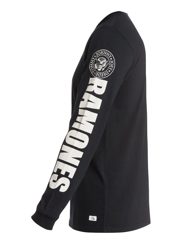 b695e114 1 Ramones Long Sleeve T-Shirt EQYZT03572 Quiksilver