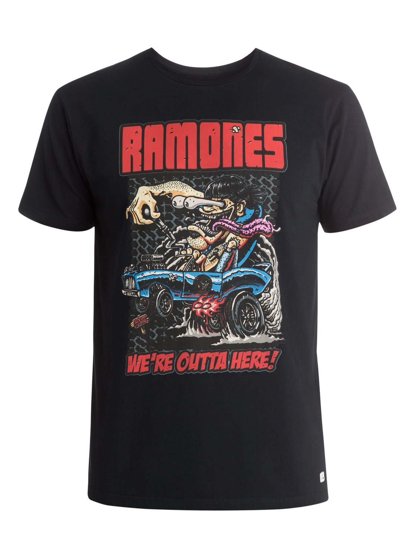 25d804ee 0 Ramones T-Shirt EQYZT03574 Quiksilver