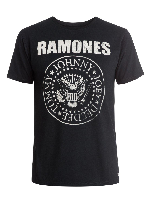 f8196143 0 Ramones Band T-Shirt EQYZT03575 Quiksilver