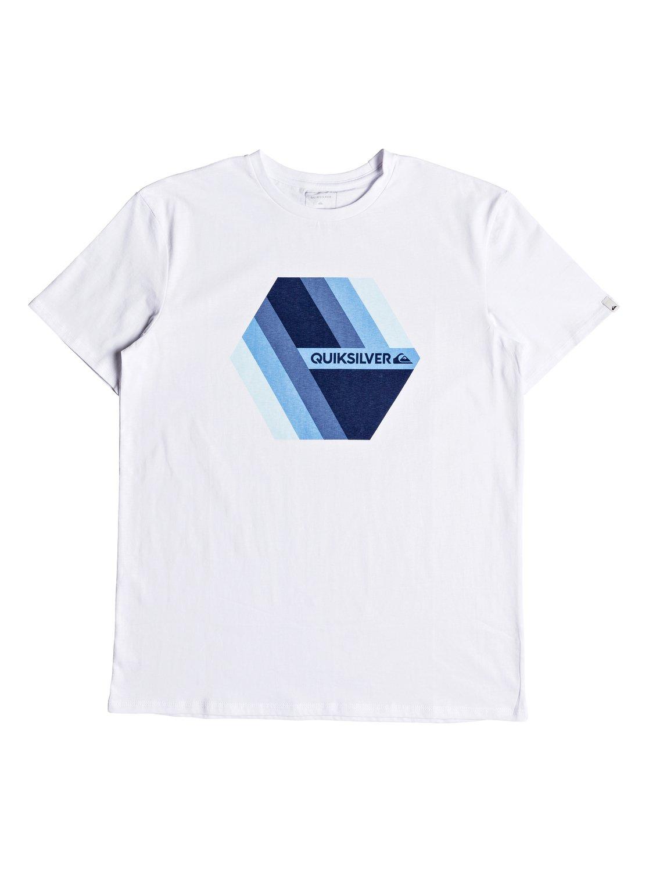 Quiksilver-Retro-Right-T-shirt-col-rond-pour-Homme-EQYZT04942 miniature 8