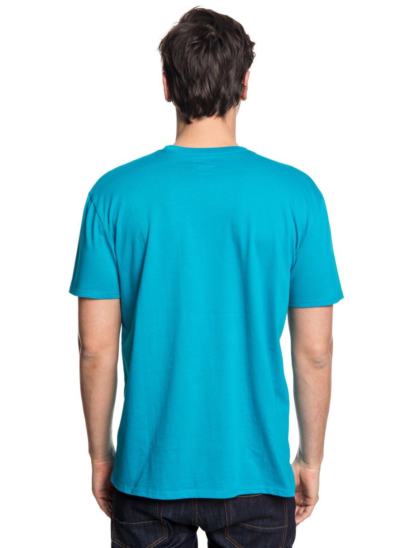Quiksilver-Retro-Right-T-shirt-col-rond-pour-Homme-EQYZT04942 miniature 11