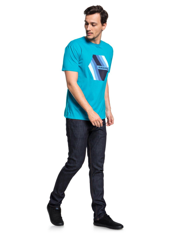 Quiksilver-Retro-Right-T-shirt-col-rond-pour-Homme-EQYZT04942 miniature 10