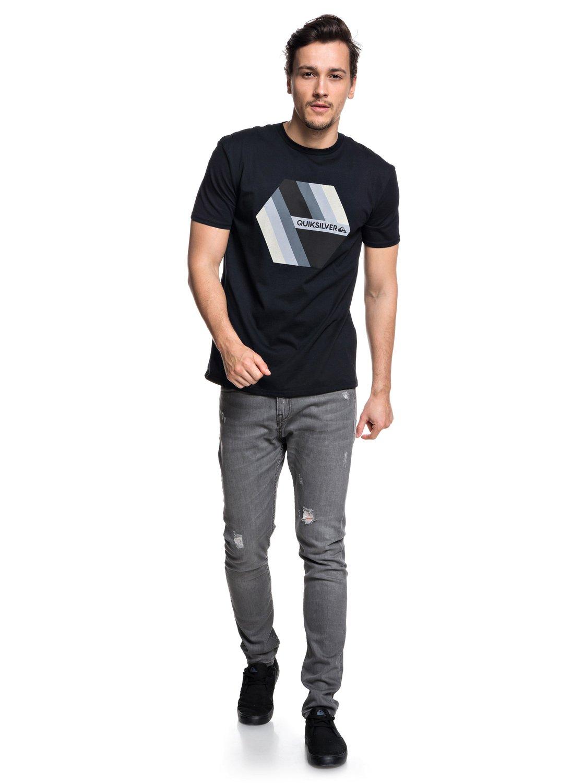 Quiksilver-Retro-Right-T-shirt-col-rond-pour-Homme-EQYZT04942 miniature 14