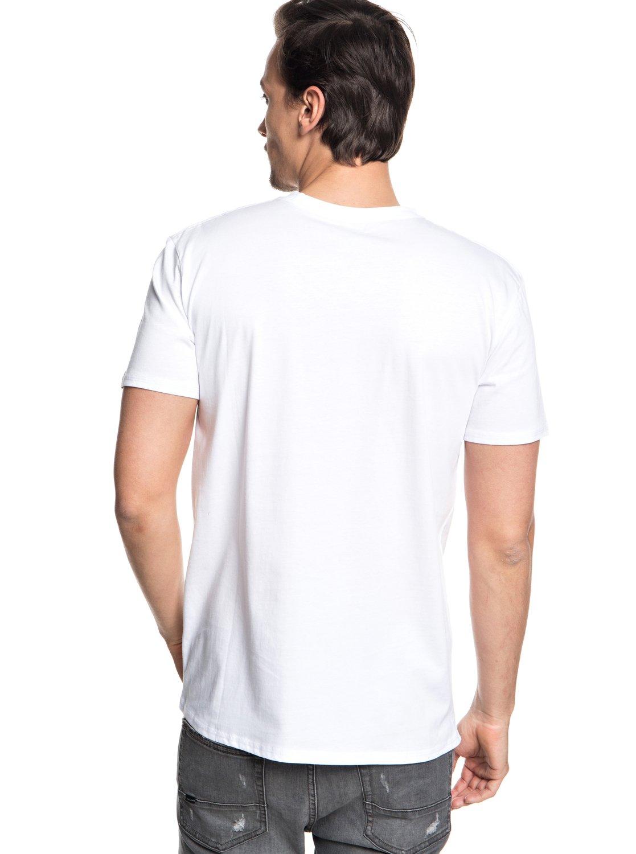 Quiksilver-Retro-Right-T-shirt-col-rond-pour-Homme-EQYZT04942 miniature 7