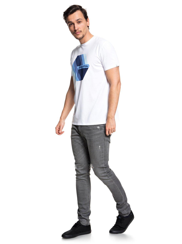 Quiksilver-Retro-Right-T-shirt-col-rond-pour-Homme-EQYZT04942 miniature 6