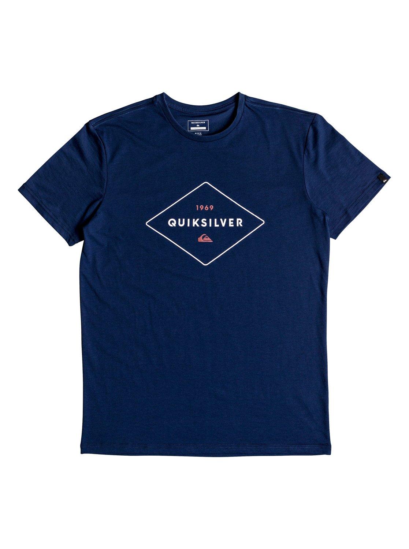 Quiksilver-Fluid-Flow-Camiseta-tecnica-con-UPF-30-para-Hombre-EQYZT04967 miniatura 8