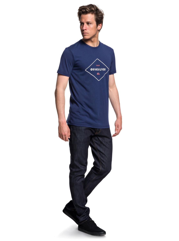 Quiksilver-Fluid-Flow-Camiseta-tecnica-con-UPF-30-para-Hombre-EQYZT04967 miniatura 6