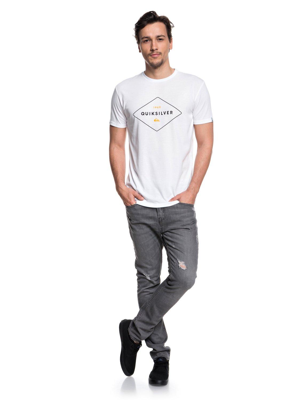 Quiksilver-Fluid-Flow-Camiseta-tecnica-con-UPF-30-para-Hombre-EQYZT04967 miniatura 10