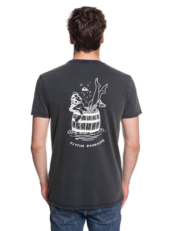 8018ba873c20 2 Gettin Barreled - T-Shirt for Men Black EQYZT05001 Quiksilver