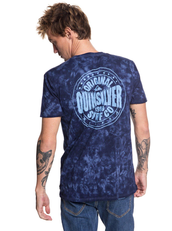 Quiksilver-Rockin-Rails-Camiseta-para-Hombre-EQYZT05002 miniatura 7