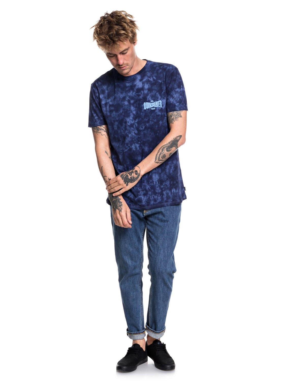 Quiksilver-Rockin-Rails-Camiseta-para-Hombre-EQYZT05002 miniatura 6