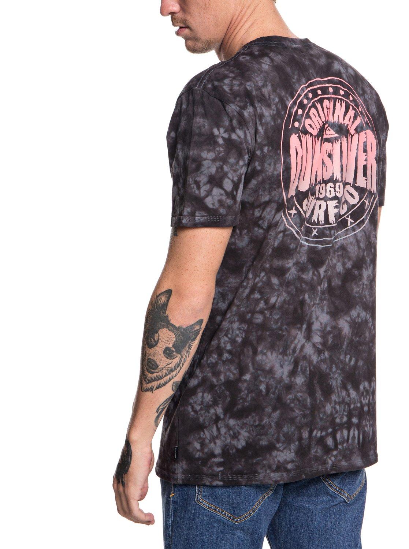 Quiksilver-Rockin-Rails-Camiseta-para-Hombre-EQYZT05002 miniatura 11