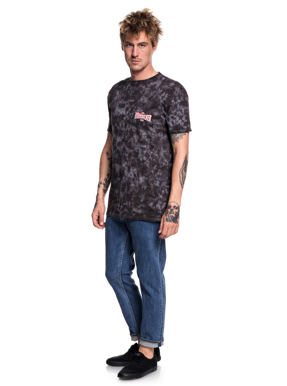 Quiksilver-Rockin-Rails-Camiseta-para-Hombre-EQYZT05002 miniatura 10