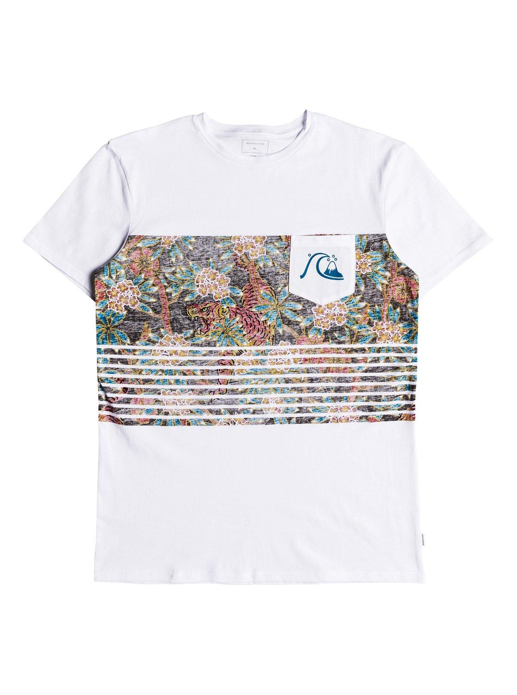 Quiksilver-Silent-Furry-Camiseta-con-bolsillo-para-Hombre-EQYZT05006 miniatura 5