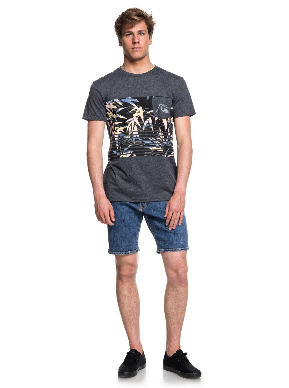 Quiksilver-Silent-Furry-Camiseta-con-bolsillo-para-Hombre-EQYZT05006 miniatura 7