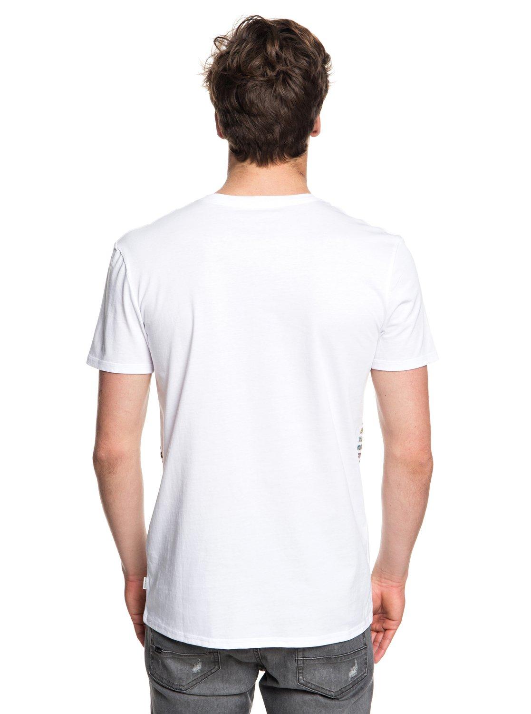 Quiksilver-Silent-Furry-Camiseta-con-bolsillo-para-Hombre-EQYZT05006 miniatura 4