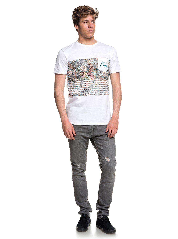 Quiksilver-Silent-Furry-Camiseta-con-bolsillo-para-Hombre-EQYZT05006 miniatura 3