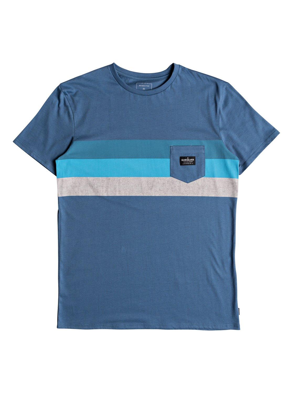 Quiksilver-Peaceful-Progression-T-shirt-avec-poche-pour-Homme-EQYZT05007 miniature 8