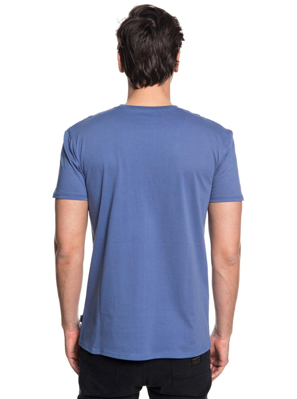 Quiksilver-Peaceful-Progression-T-shirt-avec-poche-pour-Homme-EQYZT05007 miniature 7