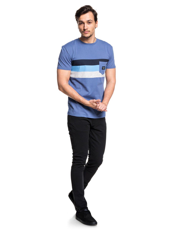 Quiksilver-Peaceful-Progression-T-shirt-avec-poche-pour-Homme-EQYZT05007 miniature 6