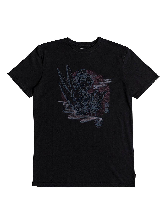 Quiksilver-Hot-Sake-T-shirt-col-rond-pour-Homme-EQYZT05011 miniature 12