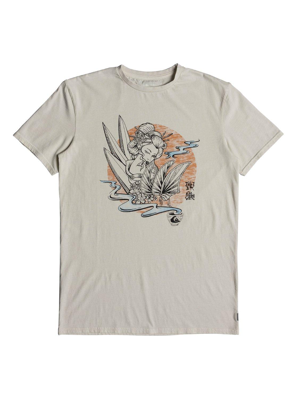 Quiksilver-Hot-Sake-T-shirt-col-rond-pour-Homme-EQYZT05011 miniature 8