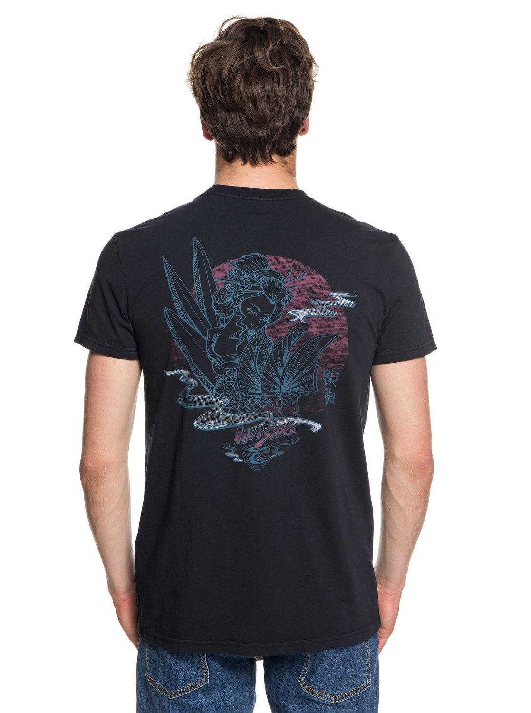 Quiksilver-Hot-Sake-T-shirt-col-rond-pour-Homme-EQYZT05011 miniature 11
