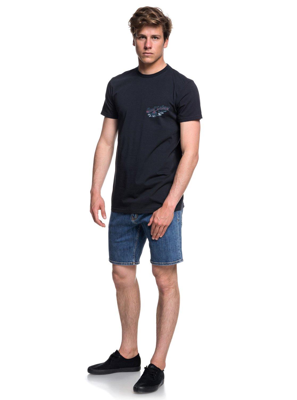 Quiksilver-Hot-Sake-T-shirt-col-rond-pour-Homme-EQYZT05011 miniature 10