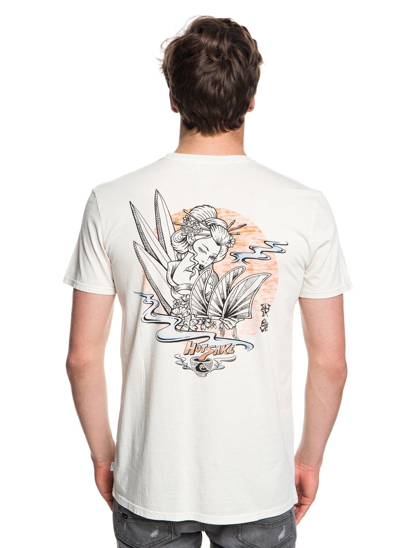 Quiksilver-Hot-Sake-T-shirt-col-rond-pour-Homme-EQYZT05011 miniature 7