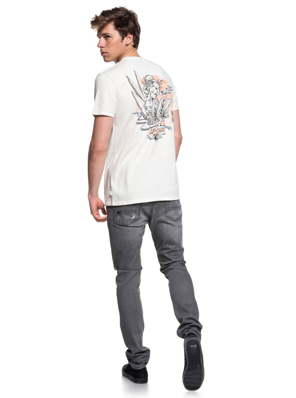 Quiksilver-Hot-Sake-T-shirt-col-rond-pour-Homme-EQYZT05011 miniature 6