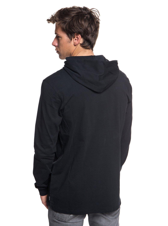 b5d9d26aba5b 3 Rough Right - Long Sleeve Hooded T-Shirt for Men EQYZT05021 Quiksilver