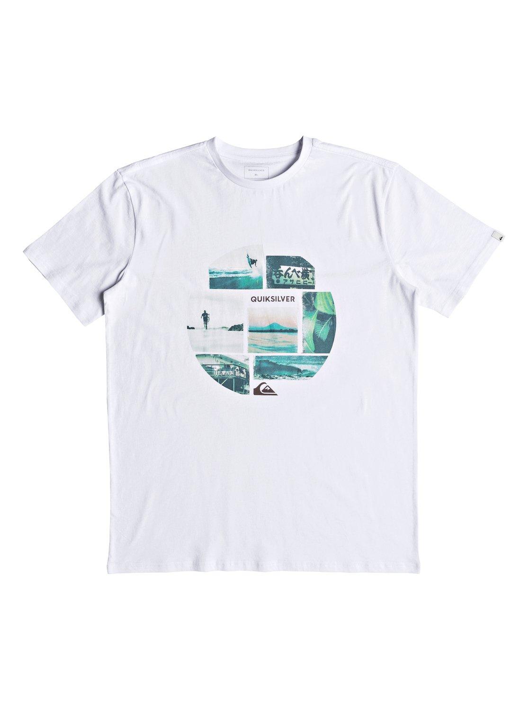 Quiksilver-Photo-Mix-Camiseta-para-Hombre-EQYZT05114 miniatura 10