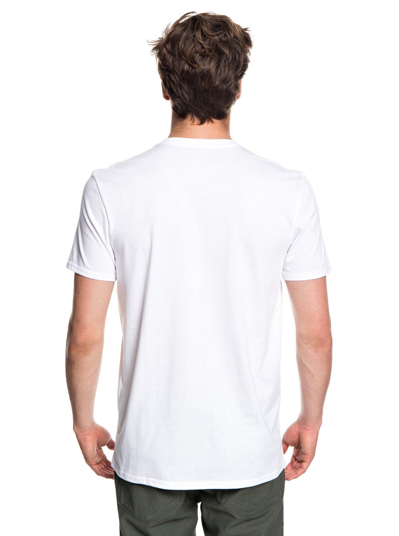 Quiksilver-Photo-Mix-Camiseta-para-Hombre-EQYZT05114 miniatura 9