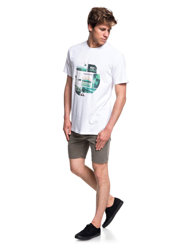 Quiksilver-Photo-Mix-Camiseta-para-Hombre-EQYZT05114 miniatura 8