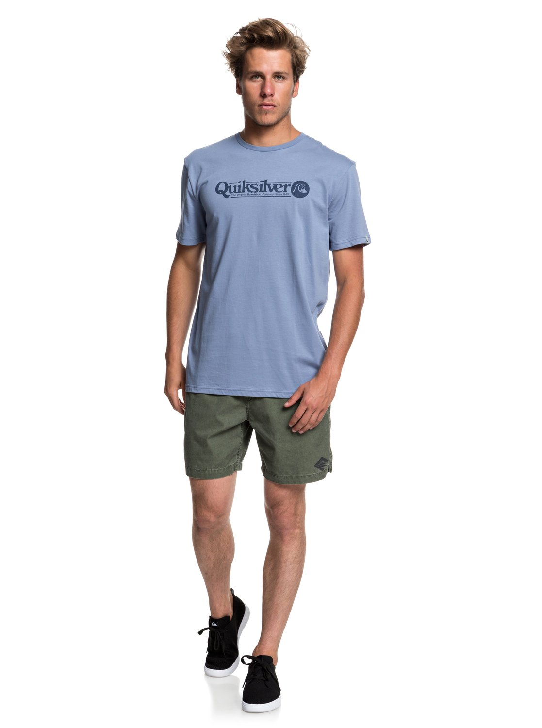 Quiksilver-Art-Tickle-T-shirt-pour-Homme-EQYZT05259 miniature 10